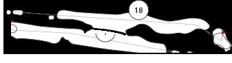 Parcours trou 18